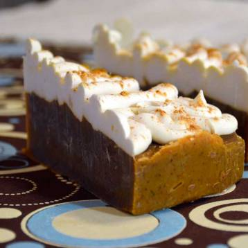 Pumpkin Pie with Vanilla and Buttercream